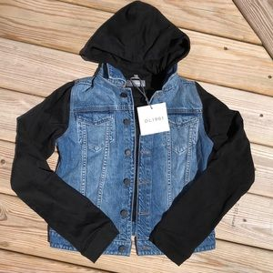 NWT DL1961 Manning Jean Jacket/Hoodie Combo